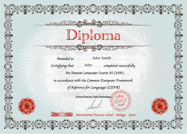 Russificate Diploma