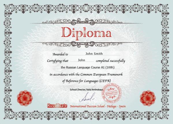 Russificate Diploma