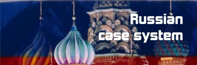 Russian case system