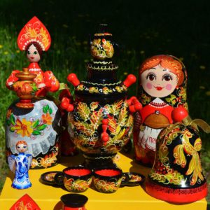 Traditional Russian art